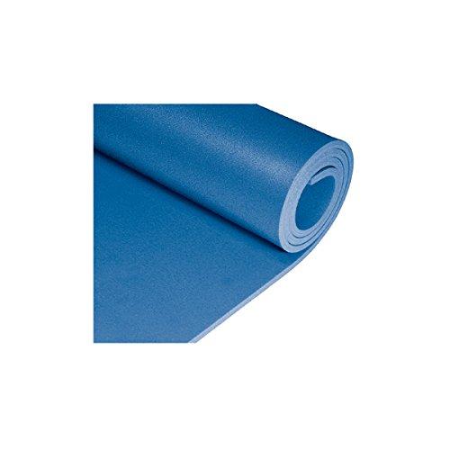 Isomatte wasser- und kälteabweisend 180 x 50 cm lang mit Wabenstruktur: Isoliermatte Turnmatte Bodenmatte Camping Matte Thermomatte Spielmatte