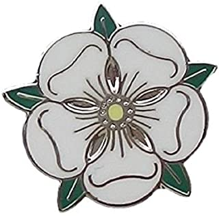 Emblems-Gifts Traditional Yorkshire Rose County Flag Pin Badge