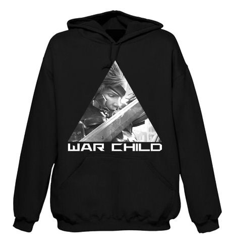Le Vert Sacr Hoody/Hoodie 'Metal Gear Rising' - War Child - XXL