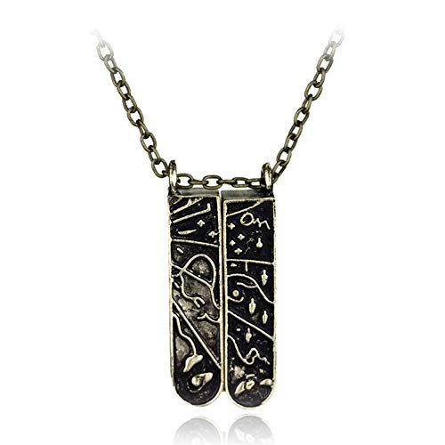 chenyou Collar Colgante Clave de joyería de la Vendimia de Lolita for Hombres y Mujeres Mujer niña para