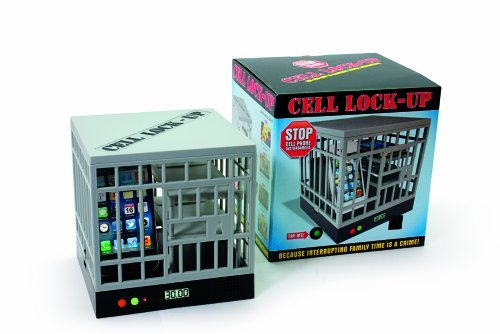 EB Brands Cell Lock-Up To Keep You Away From Your Cell Phone, Set timer for 15, 30, 45 or 60 minutes