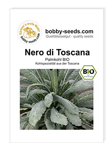 Palmkohl Nero di Toscana BIO Kohlsamen von Bobby-Seeds Portion