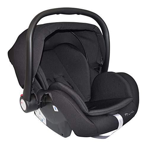 Pixini Kombi-Kinderwagen (schwarz, Auto-Babyschale (Zubehör))
