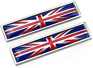 Biomar Labs/® 4 x Vinyl Aufkleber Autoaufkleber Stickers Fahne Flagge England UK GB United Kingdom Gro/ßbritannien Auto Moto Motorrad Fahrrad Scooter Fenster D 58
