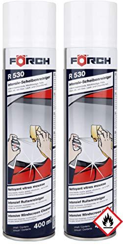 2 x Förch 6100-1600 Intensiv-Scheibenreiniger-Schaum R530, 400 ml