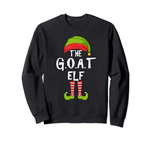 G.O.A.T. Grupo de pijamas para la fiesta familiar de Navidad Sudadera