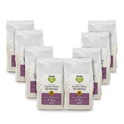 Carioni Food & Health Harina ecológica de Trigo Manitoba Tipo 0, harina...
