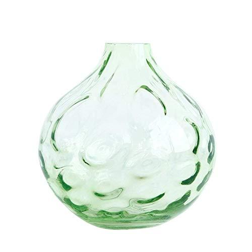 FTFTO Living Equipment Vases à Fleurs décoratifs en verre transparent à facettes de Diamant