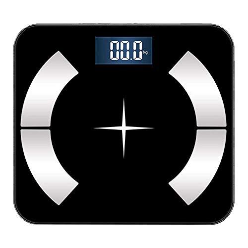 N/ A Waage Digitale, genaue Haushaltsgewichtsskala Einfaches Aussehen mit hochpräzisem Dehnungsmessstreifen-Sensor für Body Weight Body Composition Analyzer