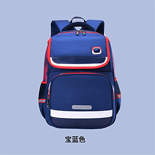 fenshan223 Men's and women's primary school children's schoolbag factory direct sales multi-function hit color Japanese style backpack (Color : D)