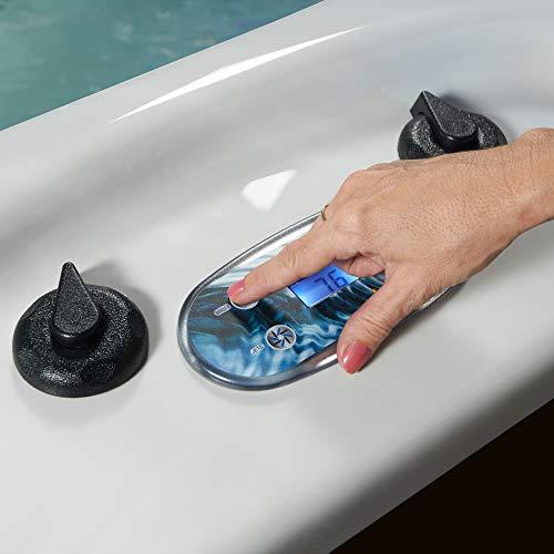 Essential Hot Tubs 50-Jets 2021 Polara Hot Tub, Seats 5-6, Espresso