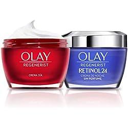 Olay Regenerist, Pack de crema hidratante de día y crema de noche, 100 ml