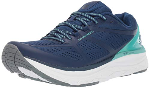 Topo Athletic Women's Phantom Road Running Shoe, Cobalt/Seafoam, Size 8, Navy