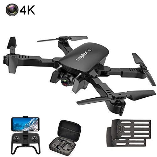 APJS 4k Drone con Camera HD Grandangolo Regolabile, RC Droni Professionale Seguimi RTH con Telecomando, WiFi FPV Drones 2K Video Live Registrazione Altezza Mantenere modalità Headless,Nero