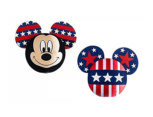 Disney Mickey Mouse American Pride Antenna Topper/Pencil Topper