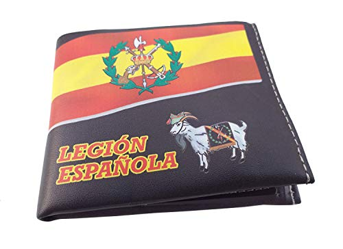 Cartera Impresa con Billetera Legión Española Fotografias 3D