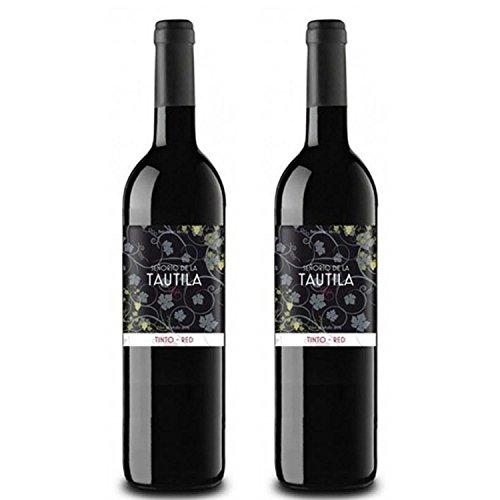 Tautila Tinto Non-Alcoholic Red Wine 750ml (2 Bottles)