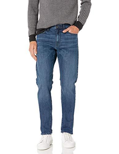 Amazon Brand - Goodthreads Men's Slim-Fit Selvedge Jean, Medium Wash 33W x 30L