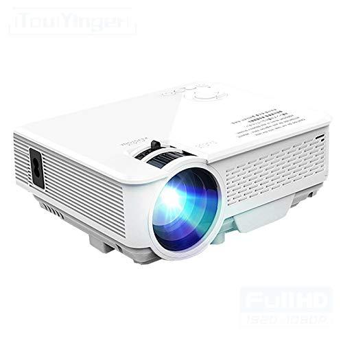 Proyector Portátil Mini Proyector Led Compatible con Proyector De Vídeo Full HD para Cine En Casa Proyectores De Películas Reproductor Multimedia