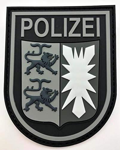 Polizeimemesshop Schleswig-Holstein Black Ops Rubberpatch mit Klett