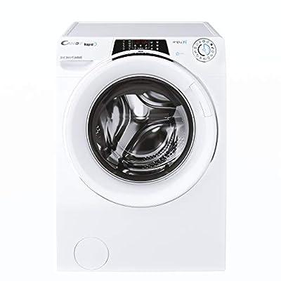 Candy Rapido RO16106DWMCE Free Standing Washing Machine, WiFi Connected, 10 kg Load, 1600 rpm, White, Decibel rating: 51, EU Acoustic Class: A