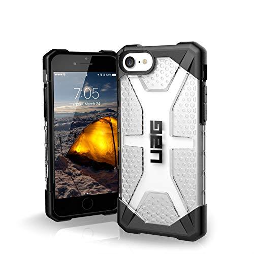 Urban Armor Gear Plasma Funda para Apple iPhone SE (2020) /8 /7 /6S Cubierta protectora (Compatible con la carga inalámbrica, Resistente a los choques, Parachoques ultra delgado) - Transparente
