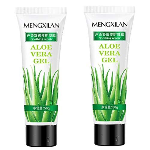 OHQ Aloe Vera Gel De Aloe LocióN Hidratante Crema Facial DI
