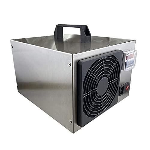 GXXDM Generador de ozono Comercial de 10000 MG/h, purificador de Aire Industrial O3, máquina generadora de ozono portátil con Temporizador para Fumadores, Polvo, caspa de Mascotas, COC