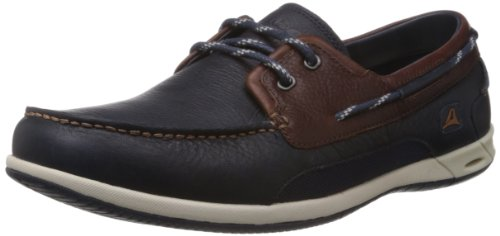 Clarks Orson Harbour, Zapatos de Cordones Derby para Hombre, Multicolor (Multicolour Leather-), 47 EU
