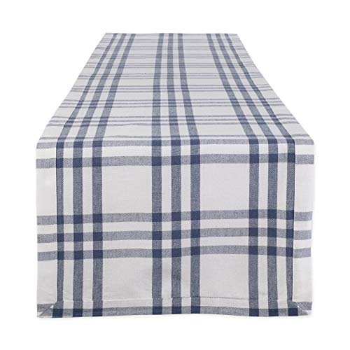 DII Farm to Table Kitchen Textiles, 14 x 72 Runner, French Blue