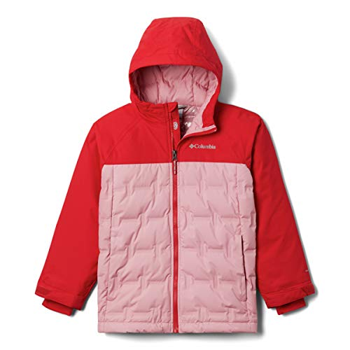 Columbia Doudoune pour enfant - Unisexe - Grand Trek XS Red Lily, rose orchidée.