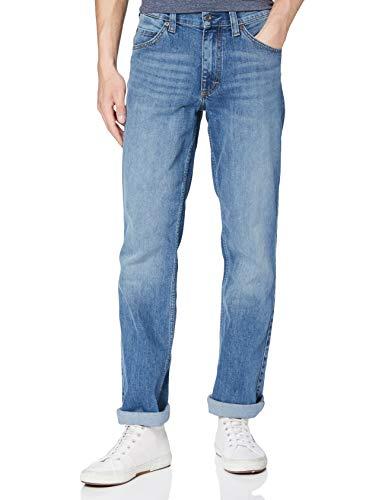 MUSTANG Herren Straight Jeans Tramper Blau (Medium Middle 582) W32/L32 (Herstellergröße: 32/32)