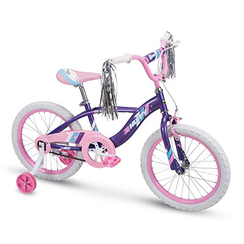 Huffy Kid Bike Glimmer 18 inch Purple Quick Assembly