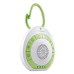 Perfect for your little ones: Whether you're at home or on the go, bedtime and naptime should always be happy times. After spending 9 months in the noisy nest of the womb, a quiet environment can mean deafening silence for your baby. MyBaby is our ra...