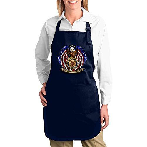 BK Creativity MANIIL Vintage US American Legion FLI Langlebige Küchen-Latzschürzen...