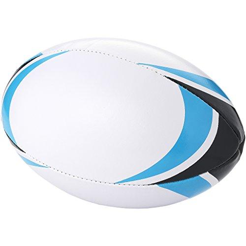 (ブレット) Bullet Stadium ラグビーボール (28 x 18 cm) (ホワイト/ブルー)
