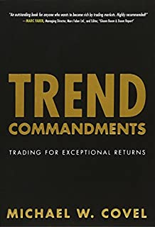 Trend Commandments: Trading for Exceptional Returns (0132695243) | Amazon price tracker / tracking, Amazon price history charts, Amazon price watches, Amazon price drop alerts