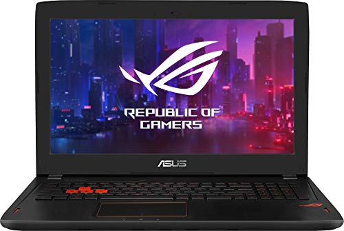ASUS GL502VM-FY213T - Ordenador Portátil de 15.6' FullHD (Intel Core i7-7700HQ , 16GB RAM, 1TB HDD+128GB SSD, Nvidia GeForce GTX1060-6GB, Windows 10) Aluminio Negro
