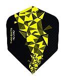 THOR-DARTS F2 - Plumas de Dardos (15 Unidades, 150 micras), Color Amarillo