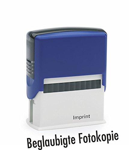 Magazijnstempel/zelfkleurig goedgekeurd fotocopie van Kaufhaus2010