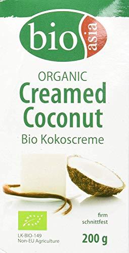 Bioasia Crema De Coco Bio 100%, En Bloque 200 g