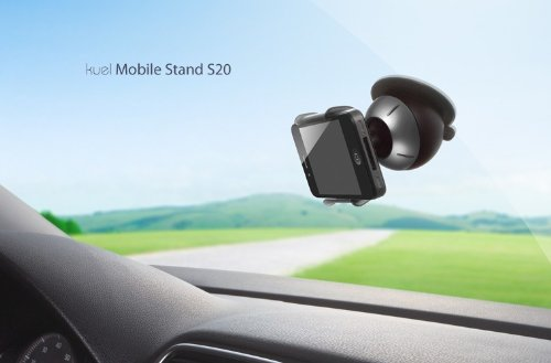 Spigen-SGP Kuel Mobile Stand S20 Supporto da auto per iPhone 4 Metalic Gray