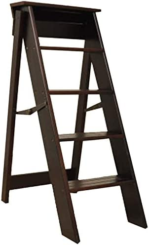 DAGCOT Wooden Folding Ladder Step store New product type Stool Chair Stoo
