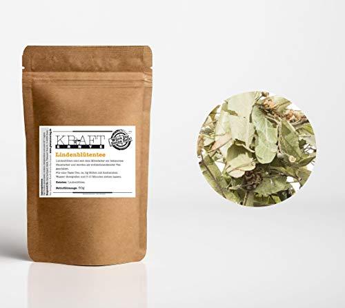 Kraft-Ernte Lindenblüten-Tee aus Bulgarien 50g I Kräutertee I Linden I Tee kochen I Kräuter I Teegetränk I Natürlicher Tee
