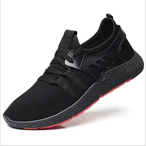XJWDNX - Zapatillas de correr para hombre, transpirables, ligeras, atléticas, deportivas, suaves