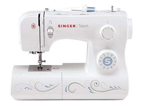 Singer Talent 3323 Sewing Machine, Bianco, 22x45x35 cm