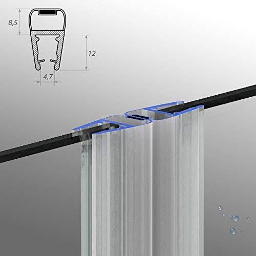 50 cm M12 ---Para ducha magnética junta para 5 mm/6 mm/8 mm grosor deflector de agua para ducha DPD protección contra sobretensiones mampara de imán para ducha, One-Bath: Amazon.es: Bricolaje y herramientas