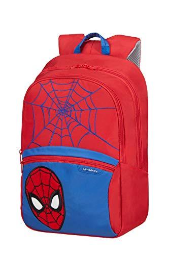 Samsonite Disney Ultimate 2.0 - Kinderrucksack M, 42 cm, 16 L, Rot (Spider-Man)