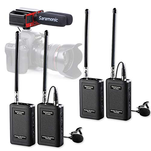 Saramonic Wireless Lavalier Microphone for DSLR Camera Camcorders
