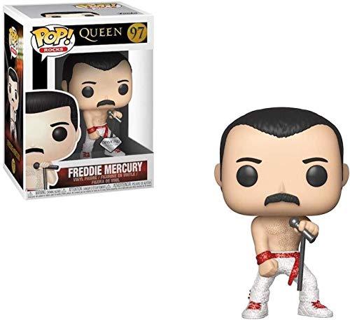 Funko Pop! Rocks: Queen - Freddie Mercury Diamond (Edizione Limitata)